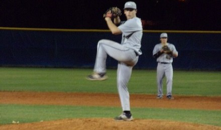 Andrew Gottfried was outstanding on the mound for Calvary Christian on Tuesday night.