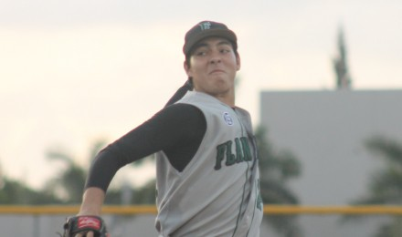 Flanagan's Dylan O'Connell struck out nine in four shutout innings, and also went 3-for-4 with a double and a home run on Tuesday.