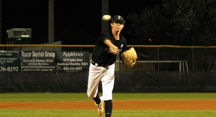 Nick Mcdonald struck out 13 and allowed two walks in five innings.