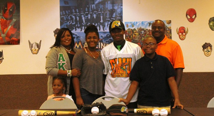 Coral Springs Charter's Robert Robinson signed with Florida A&M University.
